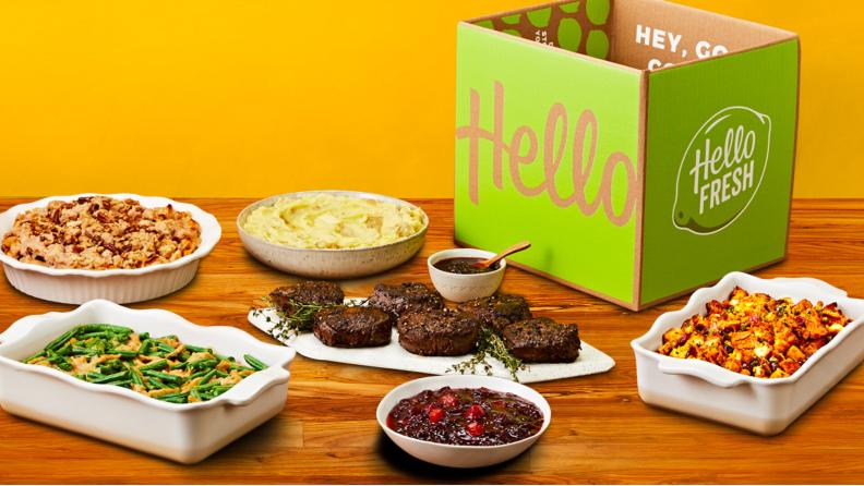 HelloFresh Thanksgiving Meal Kit