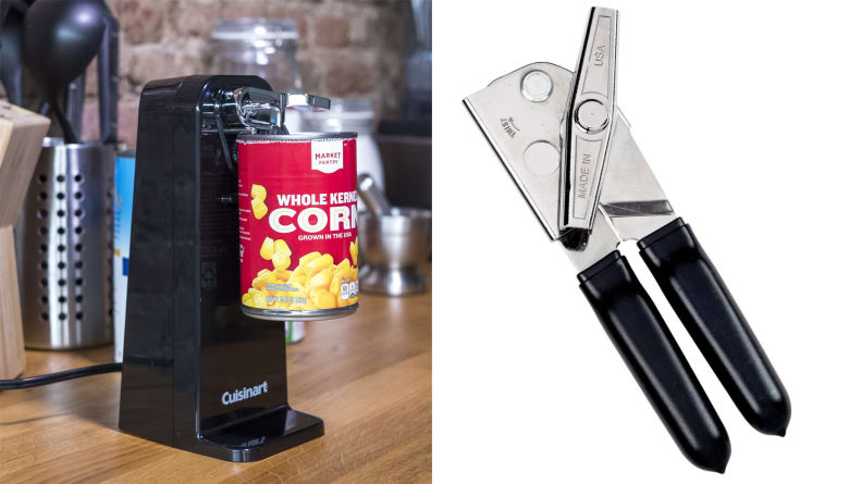 Cuisinart and EZ-DUZ-IT can openers
