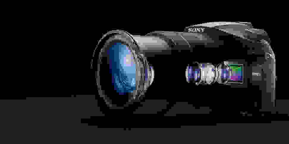A manufacturer render of the Sony RX10 III.