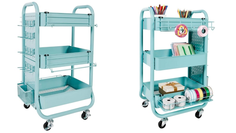 Teal cart