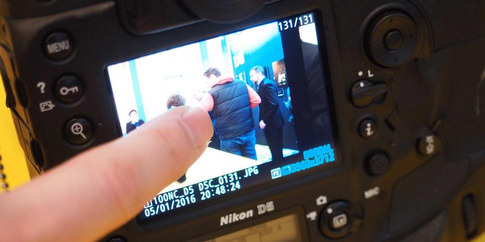 Nikon D5 Touchscreen