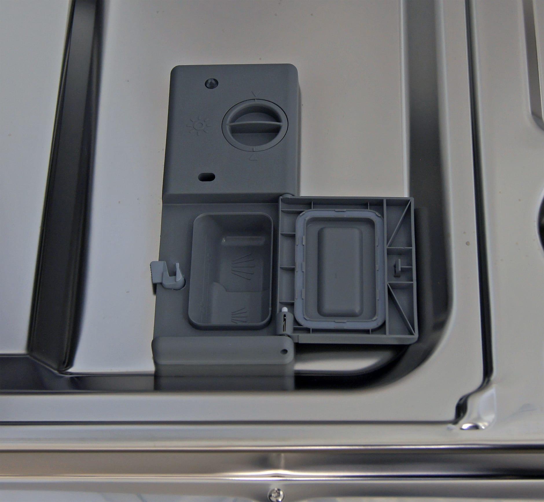 Samsung DW80F600UTSu0027s Detergent And Rinse Aid Dispenser