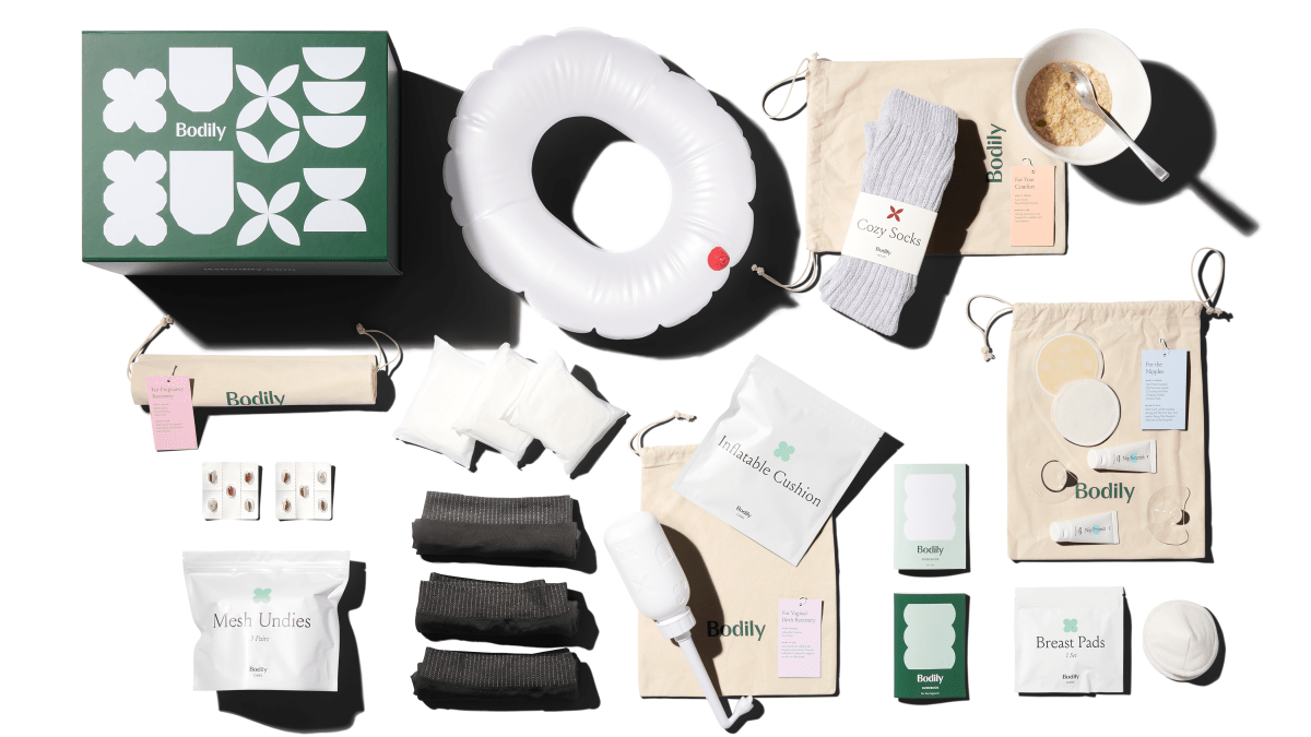Bodily's postpartum care kits make recovering from birth easier