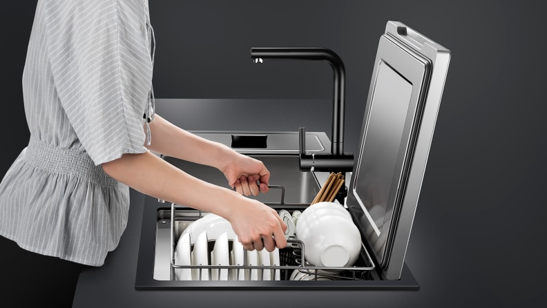 Fotile-dishwasher-sink