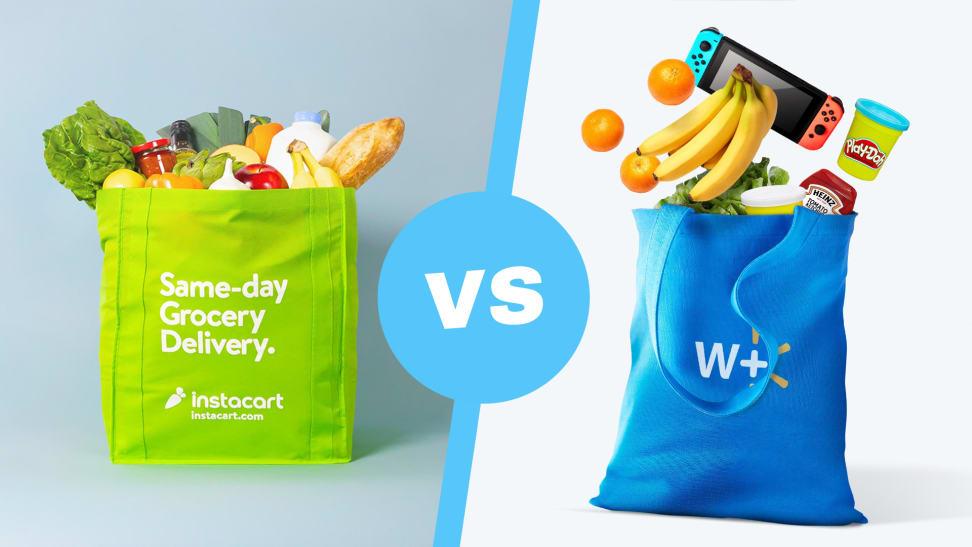 Instacart vs Walmart+