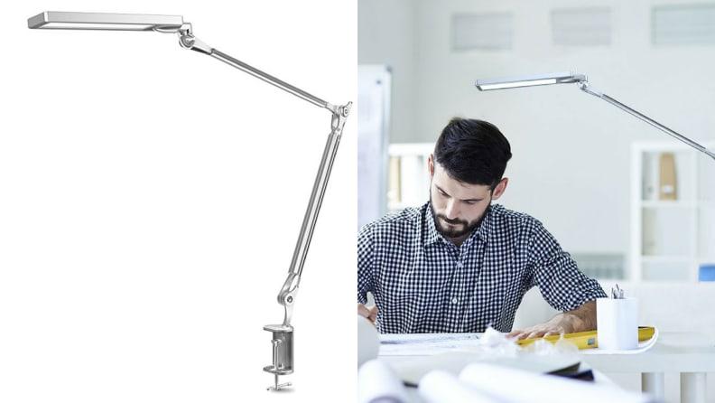 Silver Architect Lamp