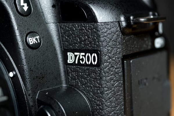The D7500 sits nicely between Nikon's entry-level cameras and its more pro-style bodies like the D500.
