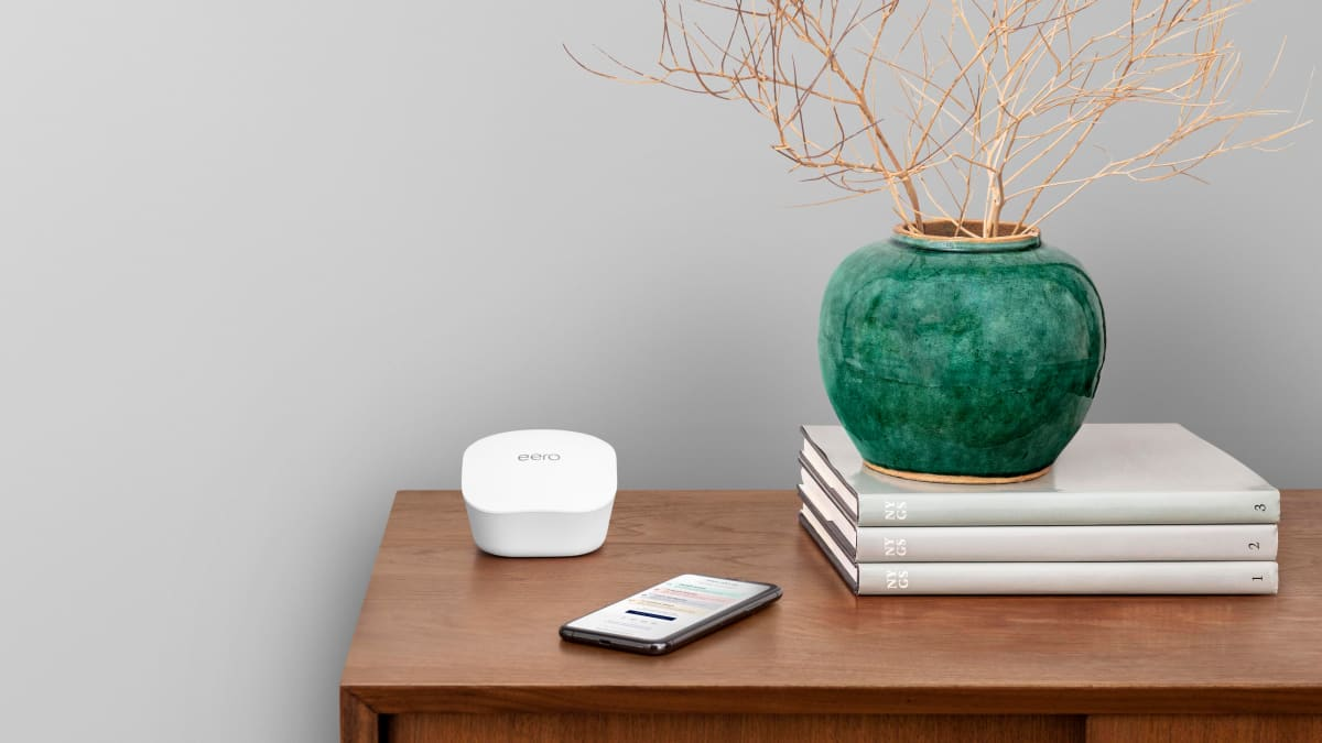 My powerful WiFi system has been a game-changer while working from home
