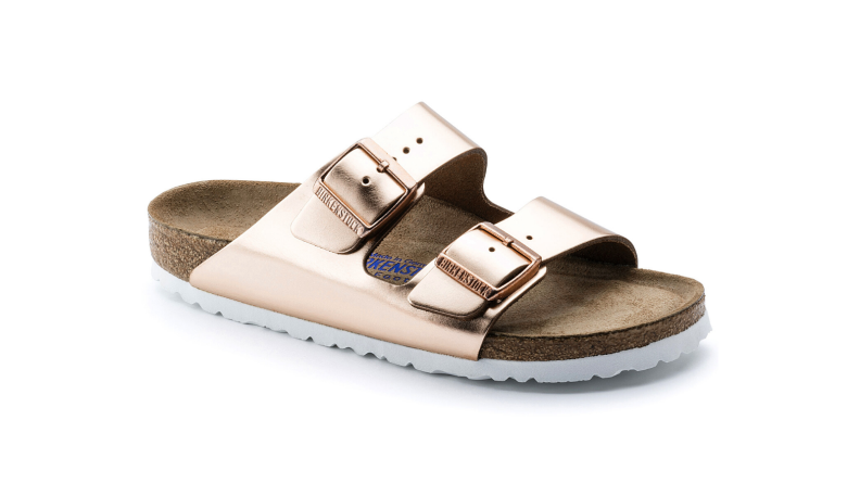 Birkenstock Arizona in Copper Leather Product