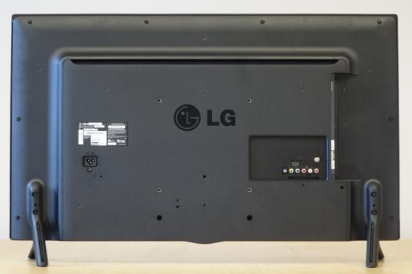 LG 39LB5600 back