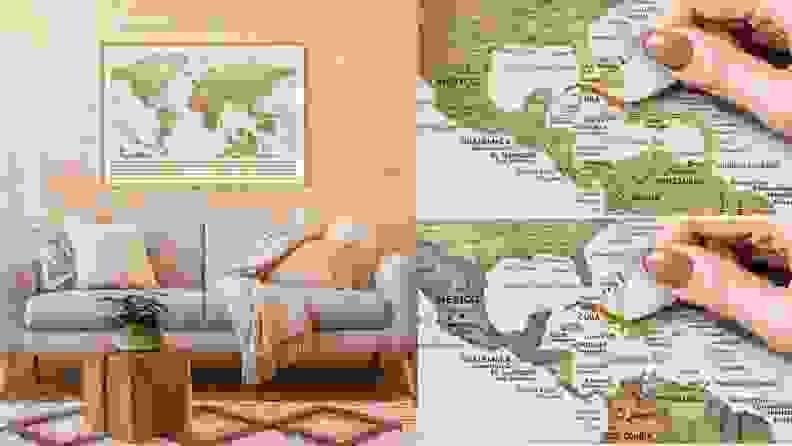 W Wanderlust Maps