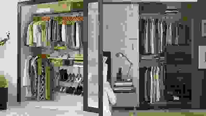 Rubbermaid configuration closet