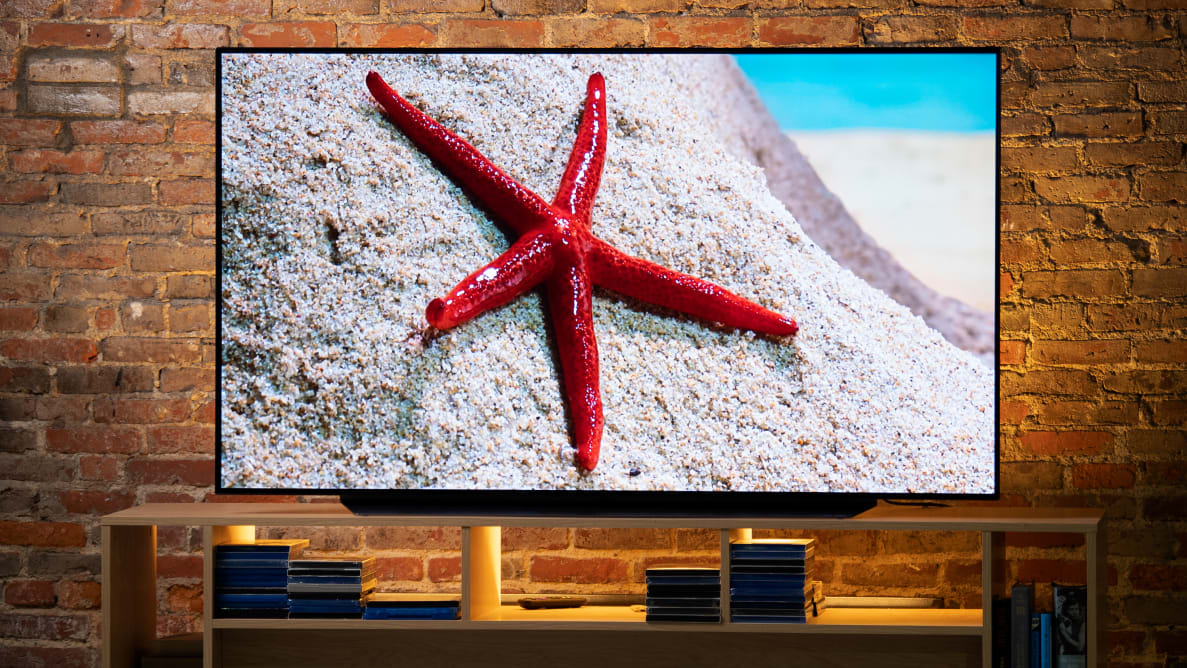 The LG C9, one of the best 4K UHD TVs you can buy in 2020