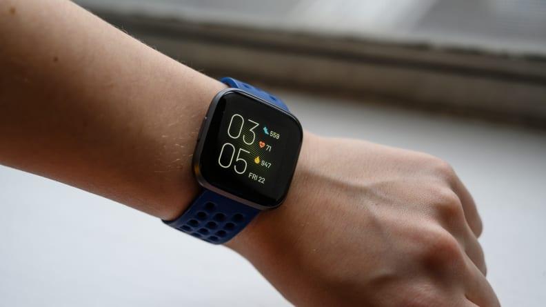 Fitbit Versa 2 clock face