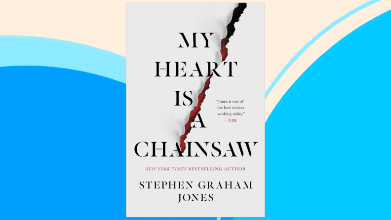 The cover of My Heart Is a Chainsaw.