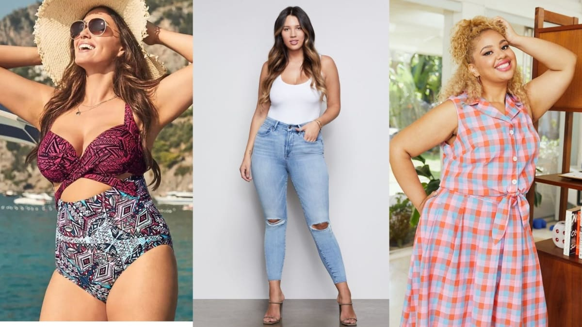 10 retailers to shop if you're in between straight and plus sizes