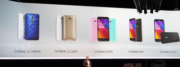 Zenfone lineup hero