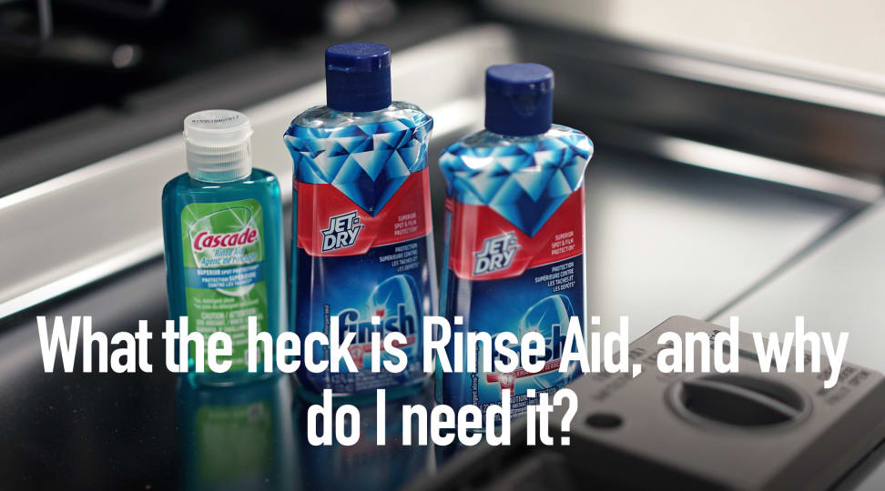 What the heck is Rinse Aid, and why do I need it?