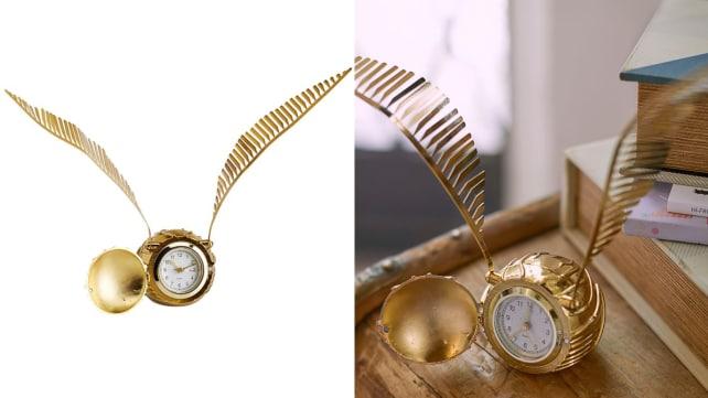 Golden Snitch™ Clock
