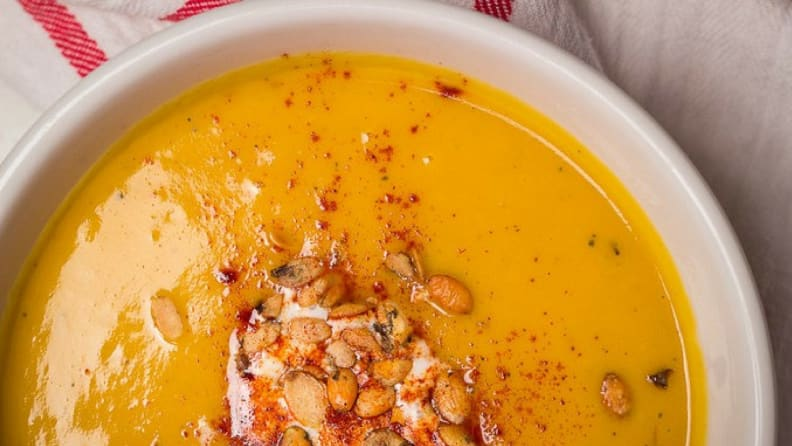 nstant Pot Creamy Butternut Squash and Apple Soup