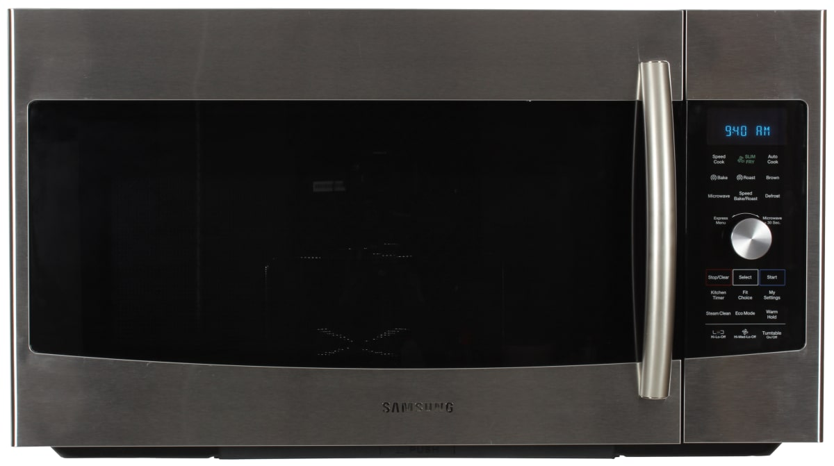 The Samsung Mc17f808kdt Over Range Microwave