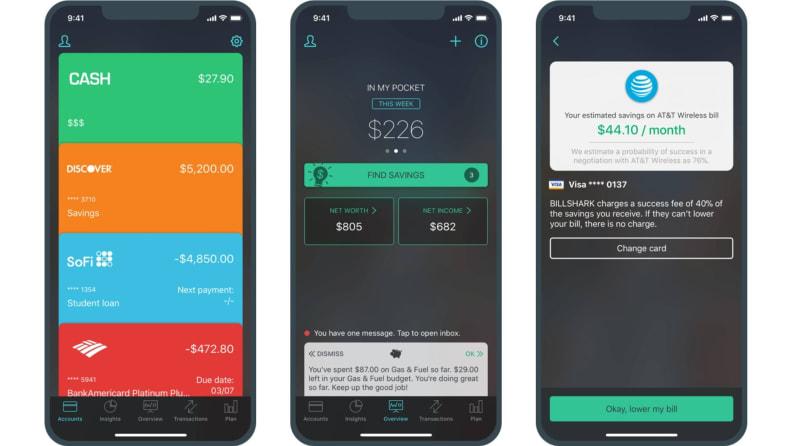 PocketGuard app screenshots