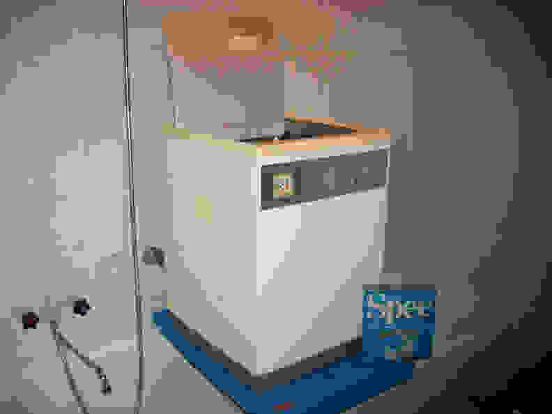 A WM 66 washer and Spee detergent