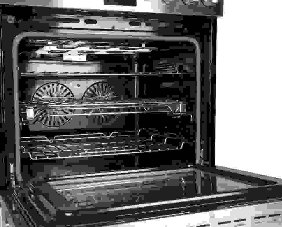 Oven interior
