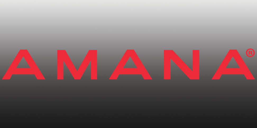 The all new Amana logo