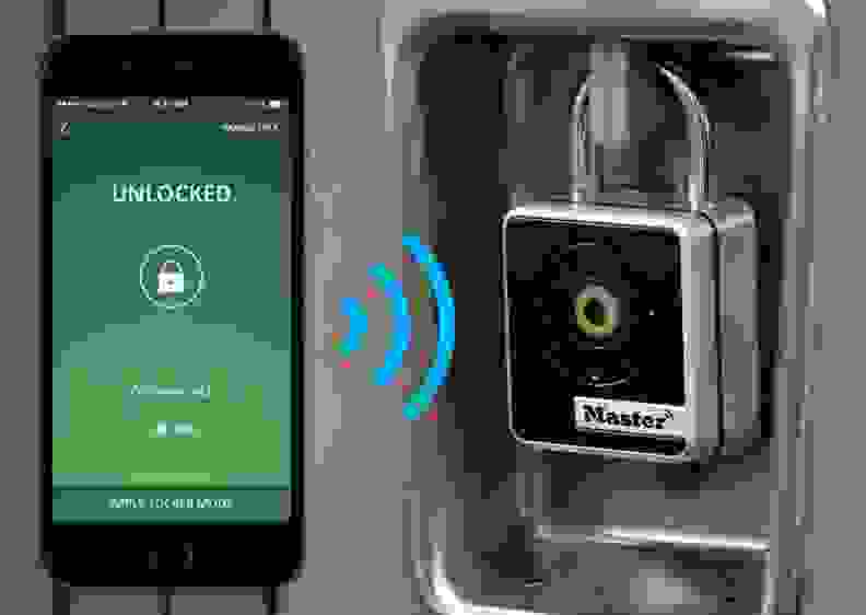 Master Lock Bluetooth Indoor Padlock