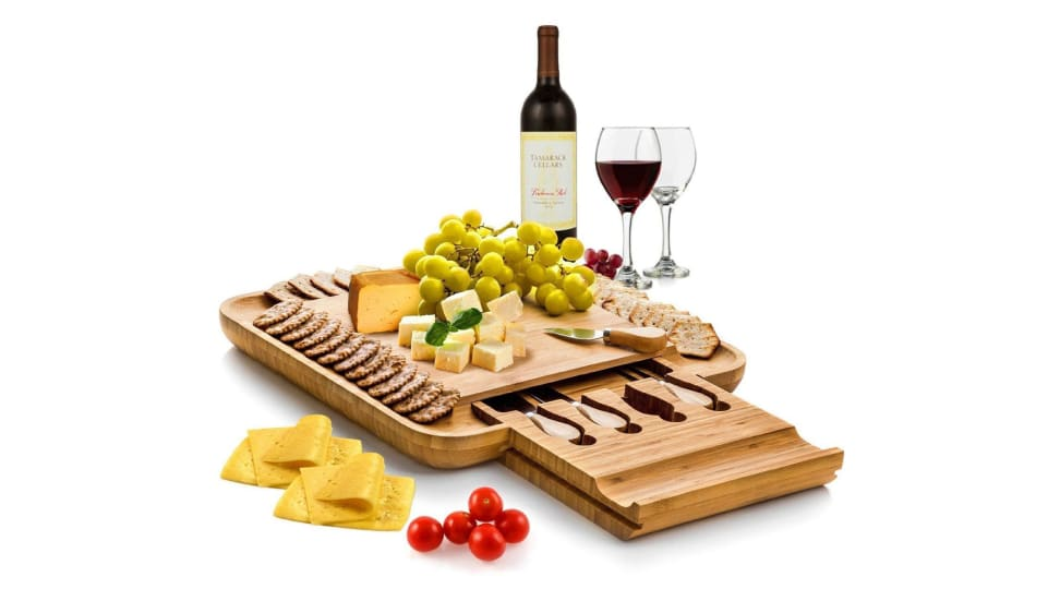 Amazon's most popular cheese board is on sale — and you need it