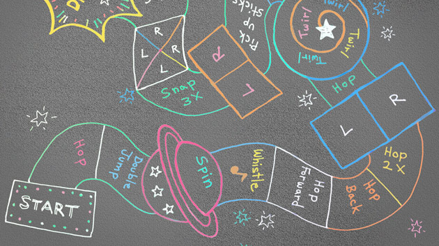 All you need is chalk and some creativity to take your hopscotch to the next level.