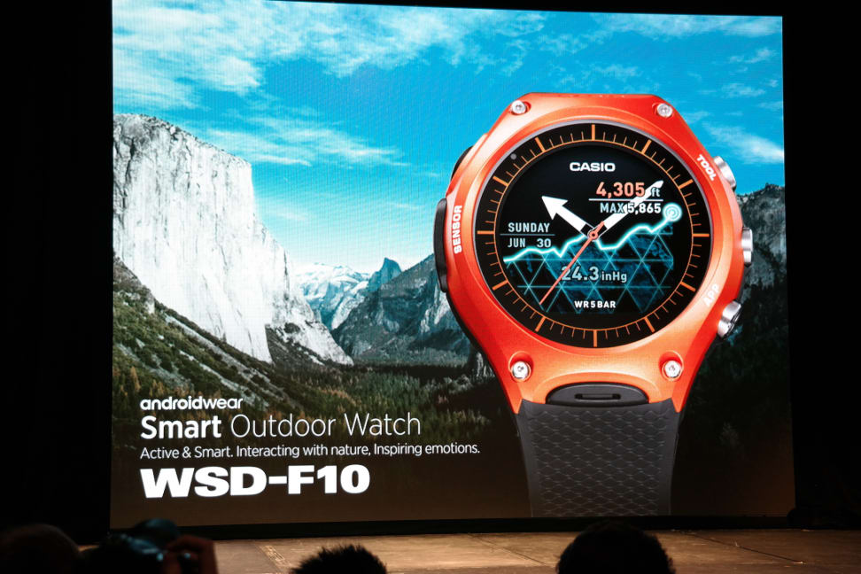 Unveiling the Casio WSD-F10
