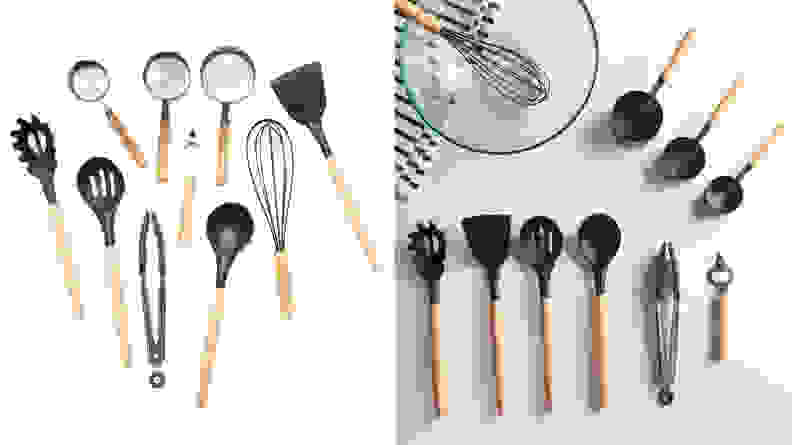 MoDRN-silicone-and-wood-utensil-set