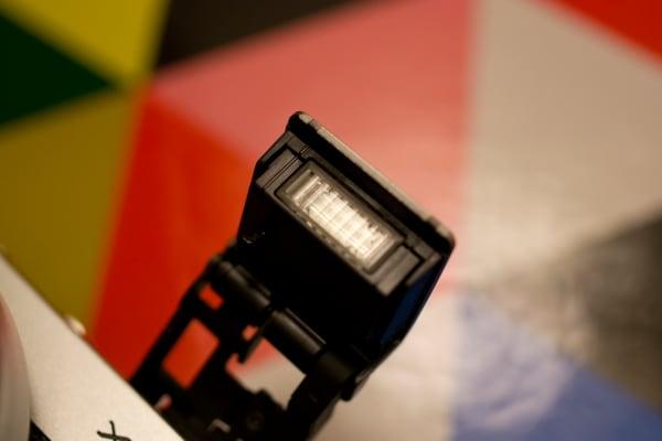 Like the X-E2, the X-A2 has a built-in pop-up flash.