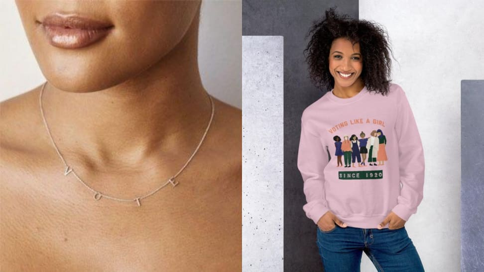 10 fashion items you can wear to encourage voting for the 2020 election