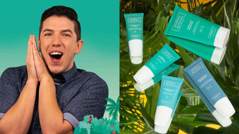 Skincare guru Hyram created his own line—here's what he got right