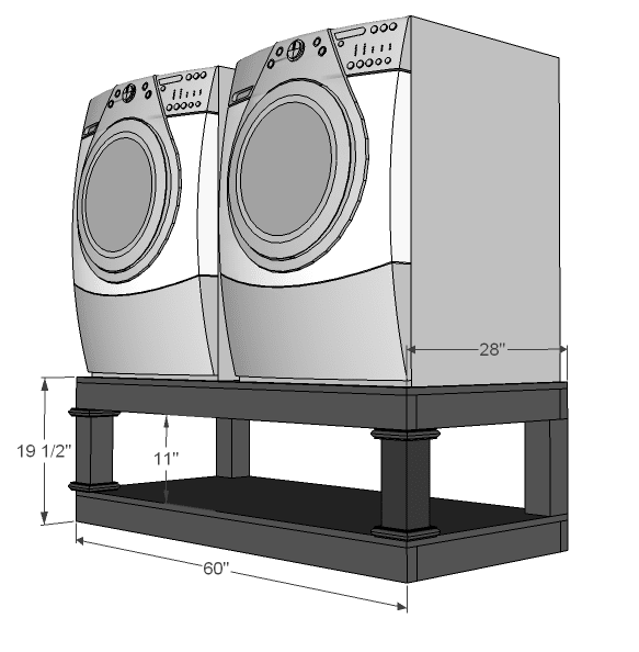 If you need a laundry riser dont buy itdiy it reviewed laundry washer dryer pedestalg solutioingenieria Gallery