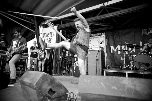 Vanna live at Vans Warped Tour.