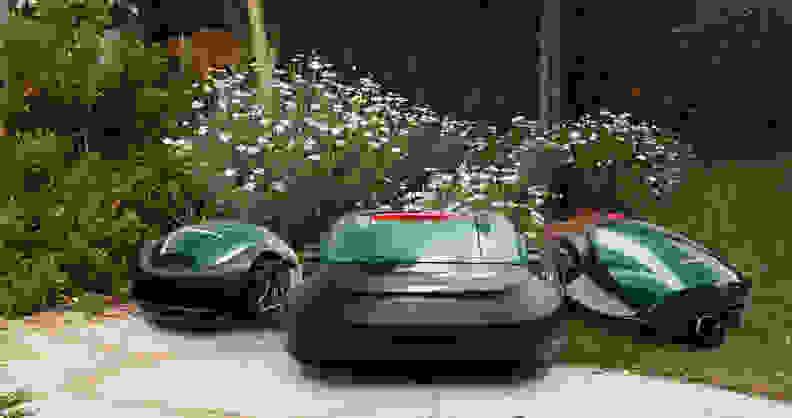 Robomow robotic lawn mowers