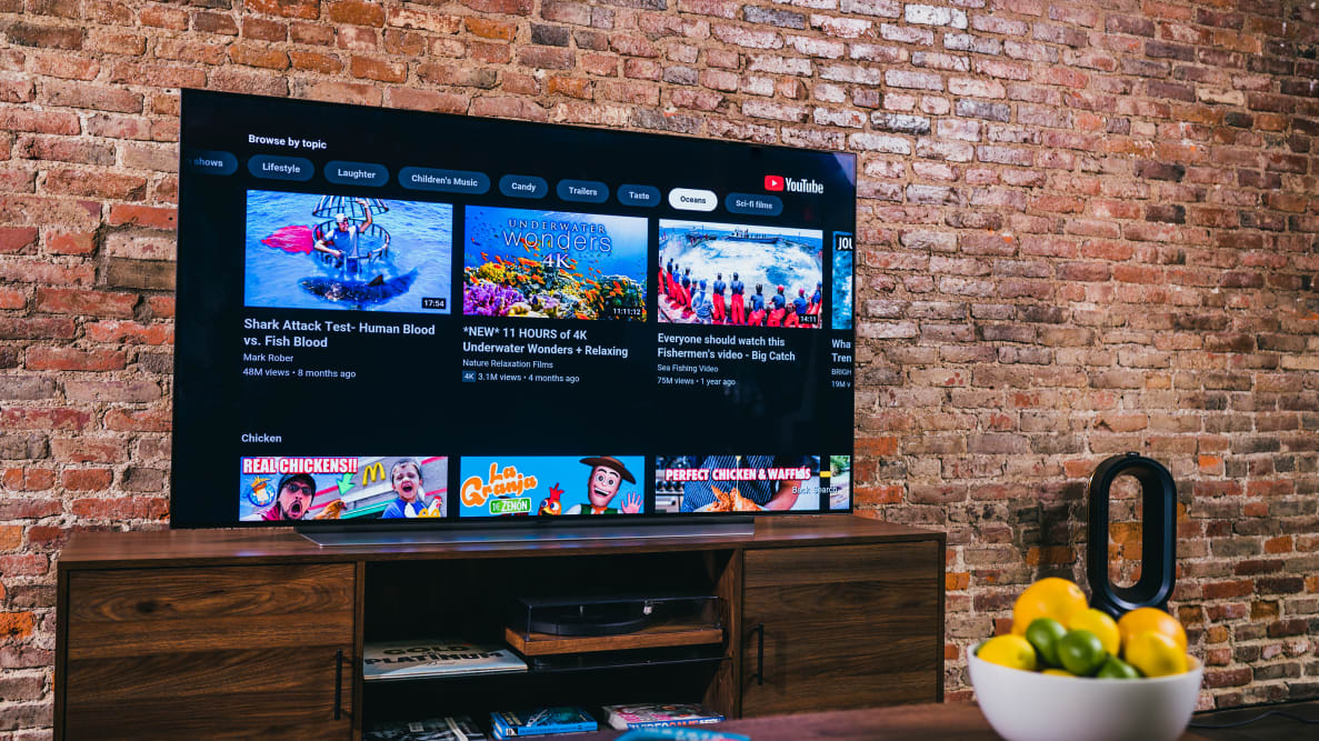 LG's 55-inch C1 OLED is the best TV in this size right now