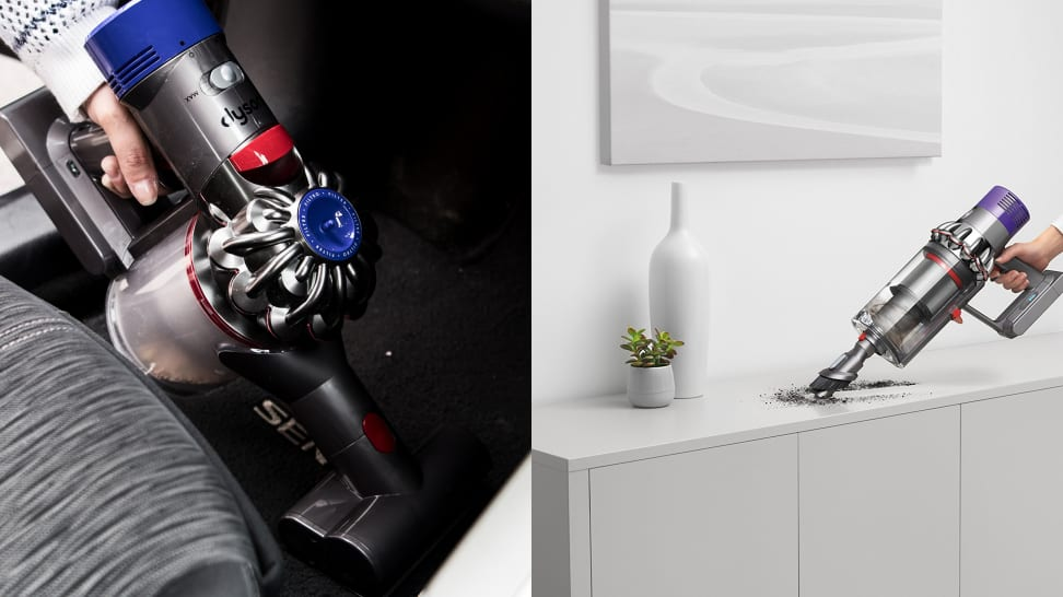 The Dyson V8 and V10 have some distinct differences