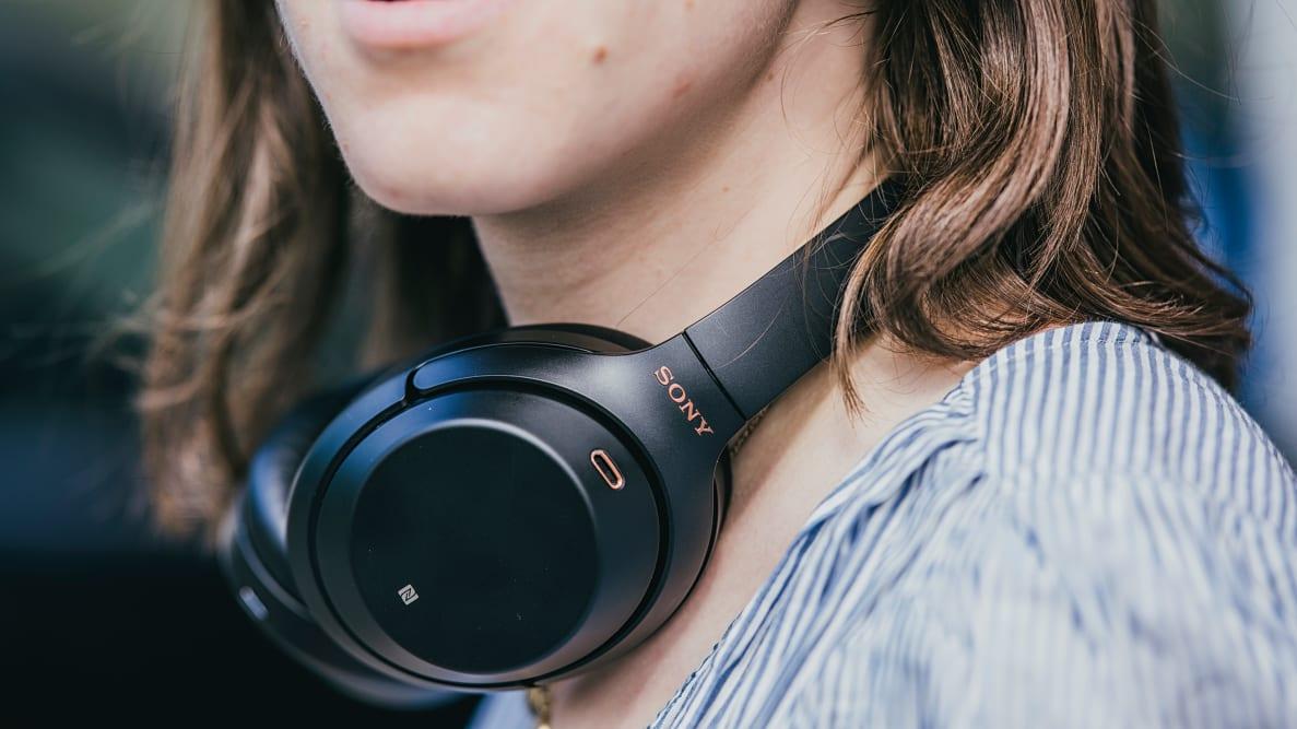 The Sony WH-1000XM3 wireless headphones