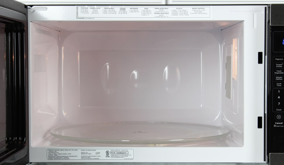 Whirlpool WMC50522AS Cavity