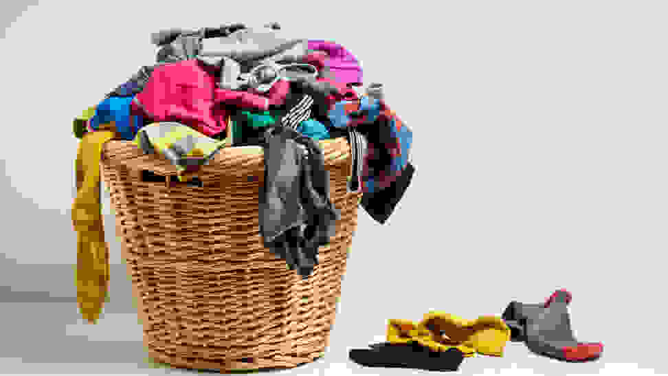 How often to wash your clothes - clothes basket