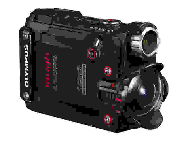 Olympus Tough TG-Tracker Side View