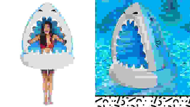 BigMouth Nibbles Shark Attack Float