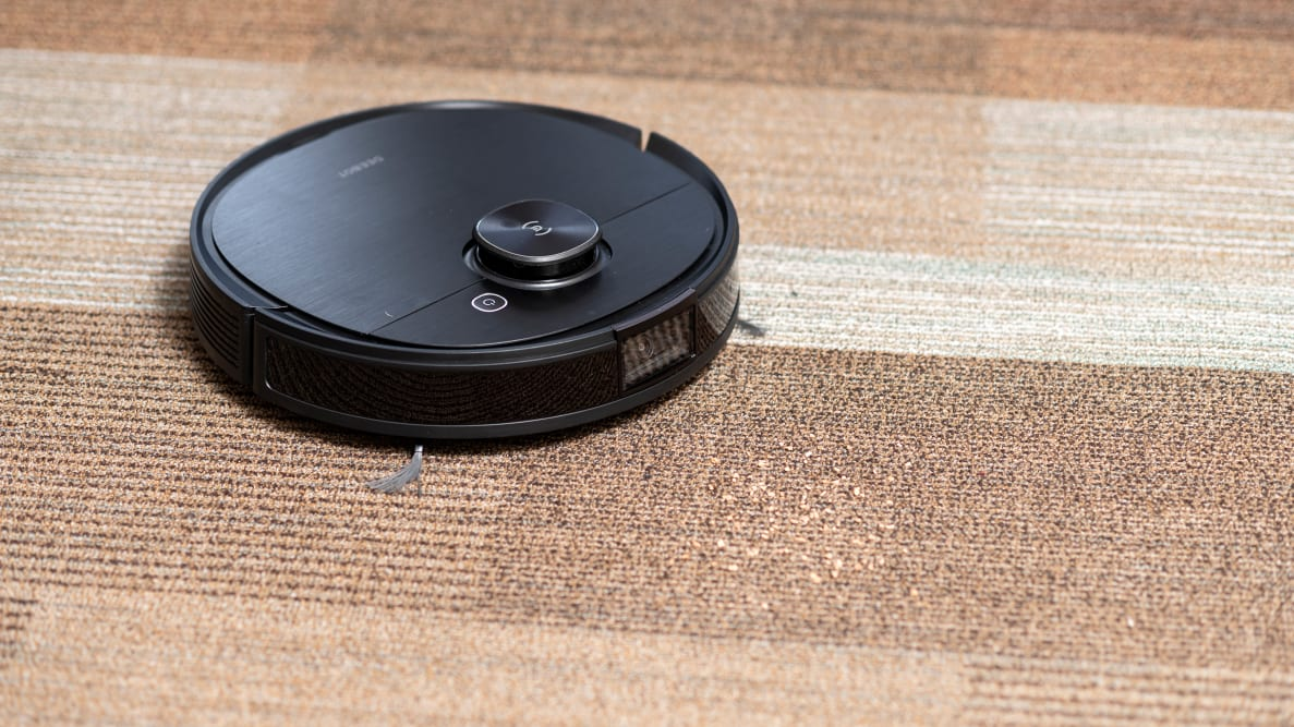 The Ecovacs Deebot T8 Ozmo navigates by sight as well as by scanning