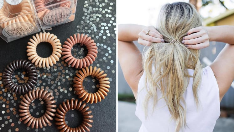 Does the popular Invisibobble hair tie actually prevent ponytail creases  c9e179fc6d5