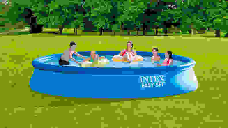 inflatable pool intro